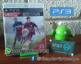 JUEGO DE PS3 FIFA 15 USADO