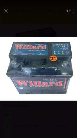 Batería willard 12x65