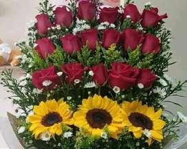 Placer floral ofrece