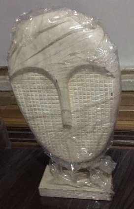 Mascara en madera