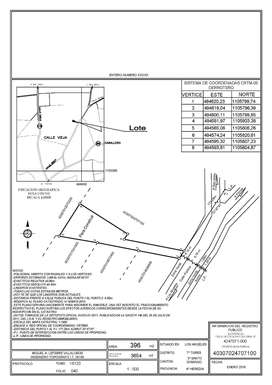 Lote 396 m2
