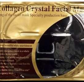 Mascarillas cristal de colageno negro