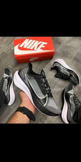 Tenis Nike Zoom X Grativi Tela Gris Negro Envio Gratis