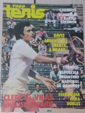 Revista Todo Tenis Año I I Num.17 Enero 1979 J.L.Clerc