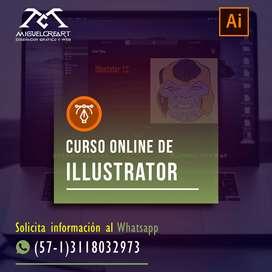 Curso Basico online o a domicilio de illustrator