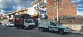 Mudanzas en Cuenca, Camiones y Camionetas - Envió de Encomiendas - Escombros - Andamios - Lavado de muebles Limpieza