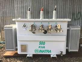 TRANSFORMADOR ESPECIAL TRIFASICO CON VOLTAJE CONMUTABLE 500 KVA / 13200V