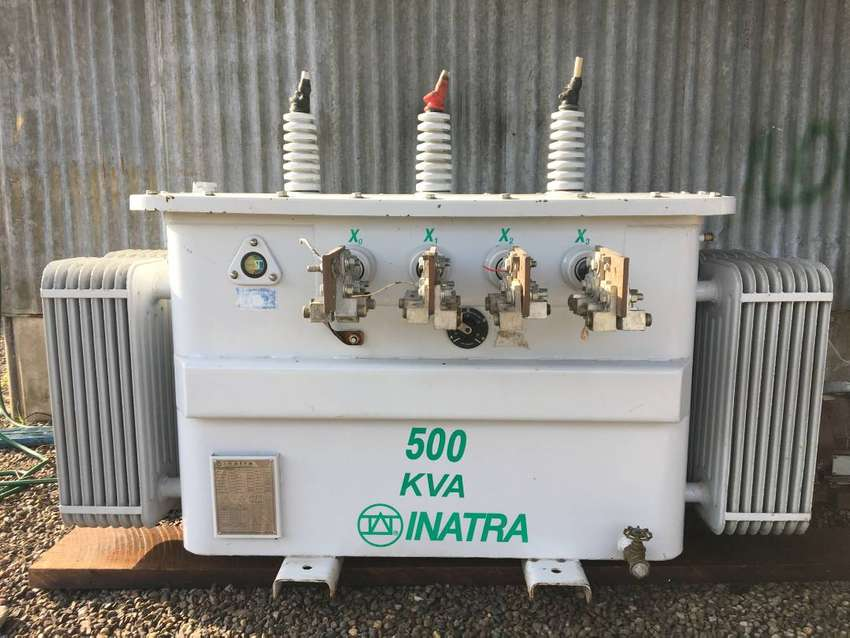 TRANSFORMADOR ESPECIAL TRIFASICO CON VOLTAJE CONMUTABLE 500 KVA / 13200V 0