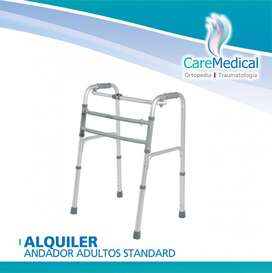 Alquiler Mensual Andador Adultos Standard Ortopedia Care Medical