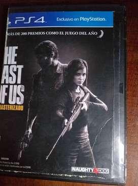 THE LAST OF US (PS4) FISICO . NUEVO