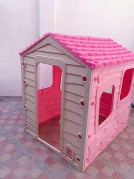 Vendo casita de juguete star play casa infantil pink princess