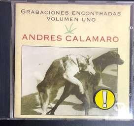 ANDRES CALAMARO / Grabaciones Encontradas Volúmen Uno