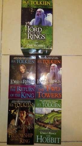 The Lord Of The Rings Libros Tolkien X 4 en Caja en Ingles