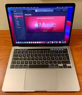 MacBook Pro 2020, garantía Apple noviembre de 2021. Negociable. Comprada en K-TRONIX.