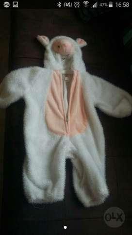 Disfraz para Bebita de Ovejita