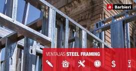 Perfiles PGU y PGC para Steel Framing, placas exterior e interior / EIFS / ailantes termoacusticos . Rosario