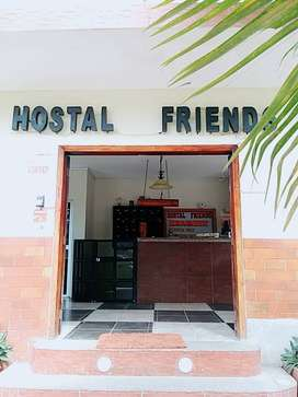 Se vende hotel en el centro de Montañita