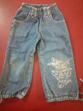 Jeans forrado