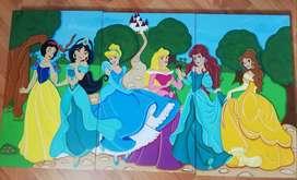Cuadro de princesas