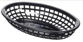 110 Bandejas Negras De 30 X 23 En Plástico Americanas