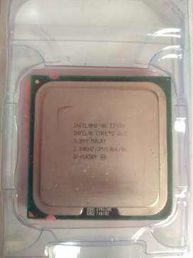 Procesador intel core 2 duo 2.8ghz  E7400