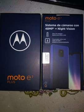 Oferta por hoy Motorola E7 plus 64gb -