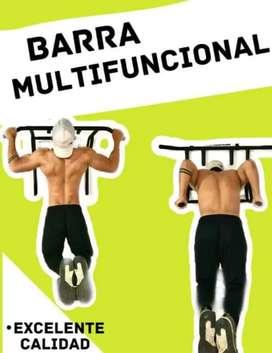 Barra multifuncional 3 en 1