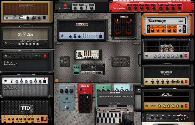 Overloud Th3 Custom Guitar Effects Pedal Plugin Vst Daw Au