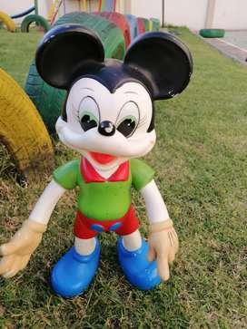 Muñeco antiguo  Mikey mouse bartoplas
