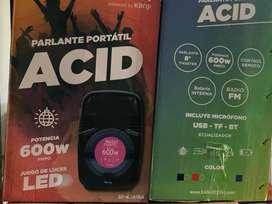 Parlante acid 600w nuevo
