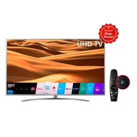 TELEVISOR NUEVO LG 65 PULGADAS 4K SMART TV TDT ThinQ AI MAGIC REMOTE