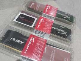 RAM HYPERX FURY DDR4 Kingston