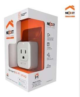 Enchufe Smart Home Nexxt Wi-fi Plug Alexa Acceso Remoto