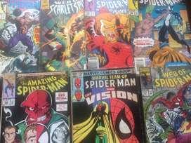 COMICS SPIDERMAN EN INGLES 25 UNIDADES