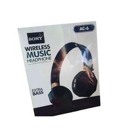 Diadema Audifonos Inalámbricos Bluetooth Sony AC6