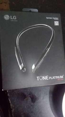 Vendo LG tone platinum de paquete
