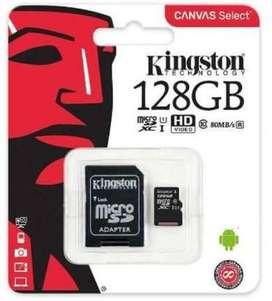 Memoria de Kingston 32gb , 64gb , y 128gb