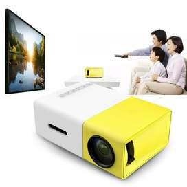 Video Beam Proyector Mini Led Hdmi Yg300 60 Pulgadas