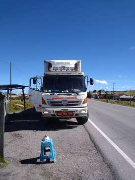 Camion Hino frigorífico
