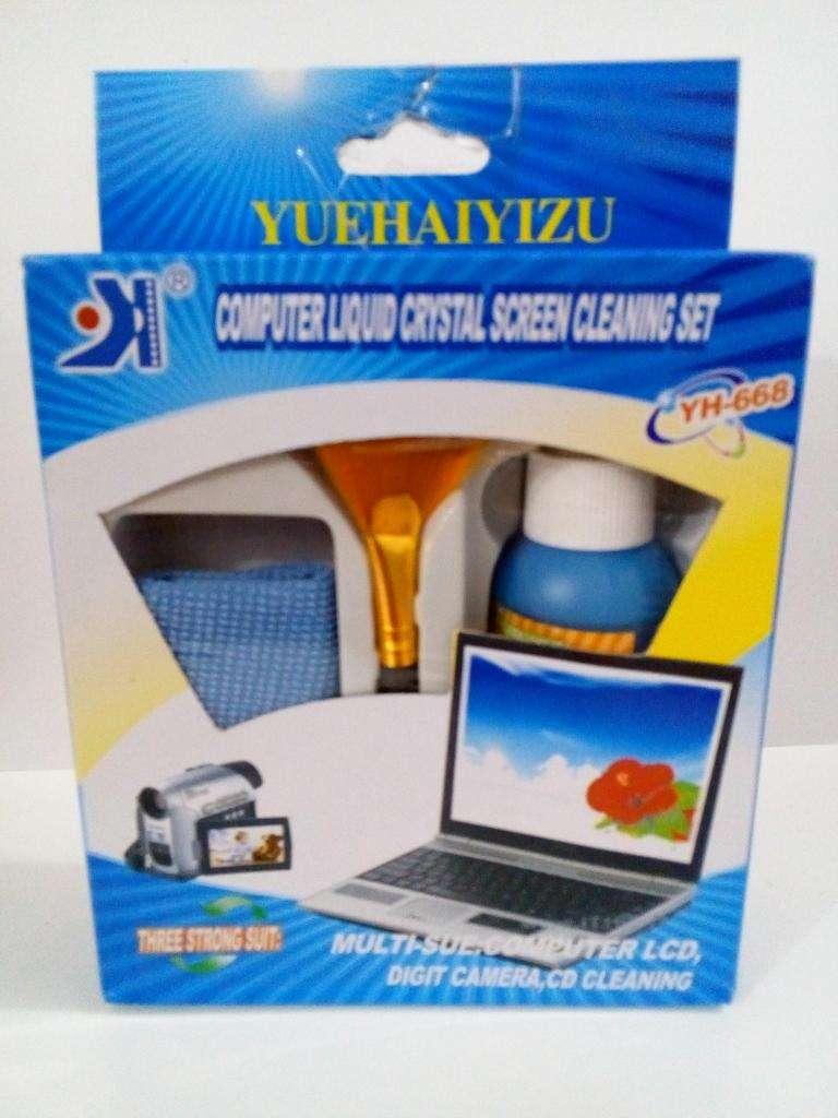 Kit de limpieza de pantallas Tv, celulares, monitores, camaras 0