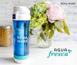 Botella filtrante de agua personal
