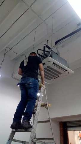 Venta instalación reparación aires acondicionados