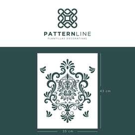 Plantilla Decorativa Patternline - Decora tus paredes