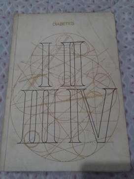 DIABETES . ETIOPATOGENIA SINTOMATOLOGIA TRATAMIENTO FOGLIA CAMPOS 1970