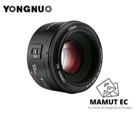 Yongnuo 50mm 1.8 EF para Canon