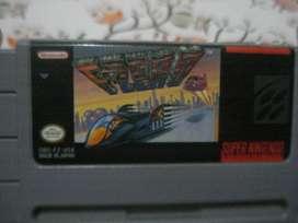 Juego F Zero Nintendo Snes Impecable Original