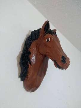 caballo en ceramica