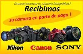RENUEVA tu Camara profesional NIKON D3100 D3200 D3300 D3400 D3500 CANON T5 T6 T3I T5I