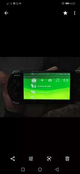 Psp 3001E pantalla con detalle leer descripción