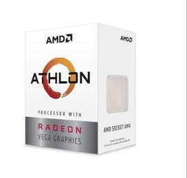 Procesador Amd Athlon 200ge Am4 Socket 3.2 Ghz Radeon Vega 3